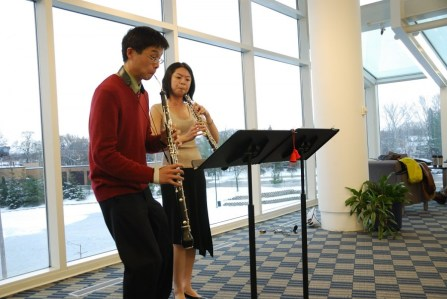 Caroling with the Oboes, Northbrook Library, IL.